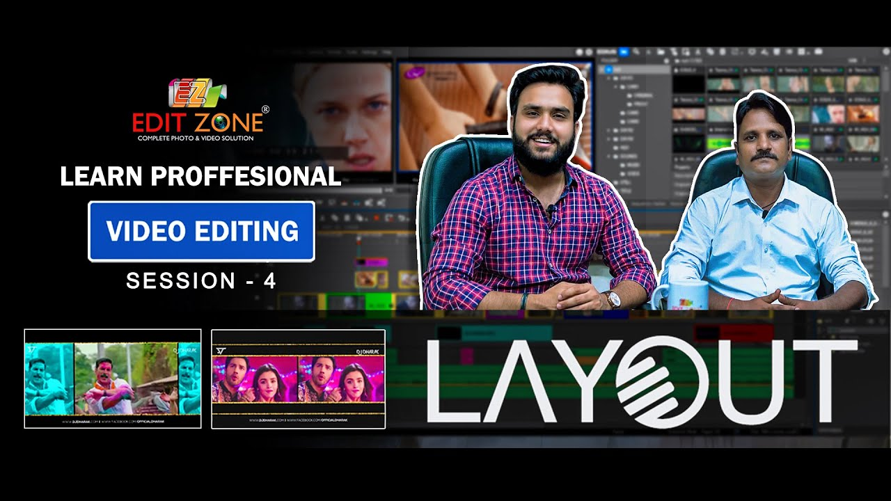 Download Edius Layouter | Learn Video Editing | Session - 4 | Edit Zone