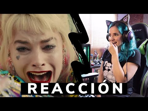 BIRDS OF PREY trailer REACCIÓN **Harley Quinn**