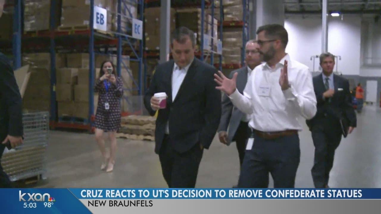 Senator Ted Cruz talks jobs at Sysco plant near New Braunfels