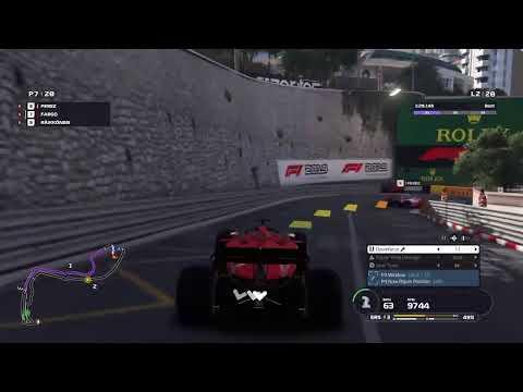 F1 2019 Legends Edition : Senna and Frost Circuit de Monaco Race |
