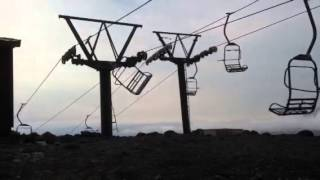 Possessed Chair On Chairlift