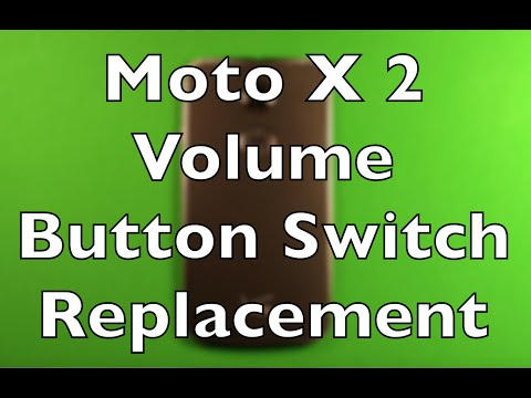Moto X (2nd Gen) Volume Button Switch Replacement How To Change