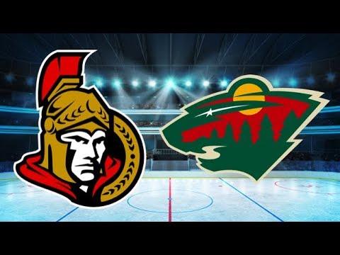 Ottawa Senators vs Minnesota Wild (1-3) – Jan. 22, 2018 | Game Highlights | NHL 2018
