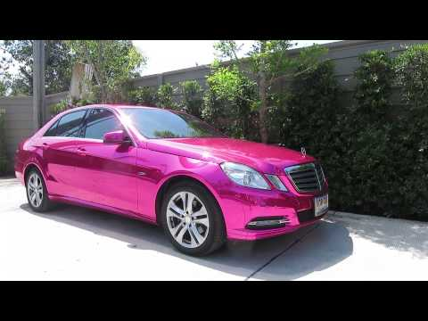 Mirror chrome 100 reflection with no blur silver gtr for Pink mercedes benz
