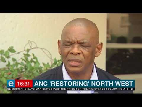 Magashule pours cold water on calls for ANC NW PEC to be disbanded