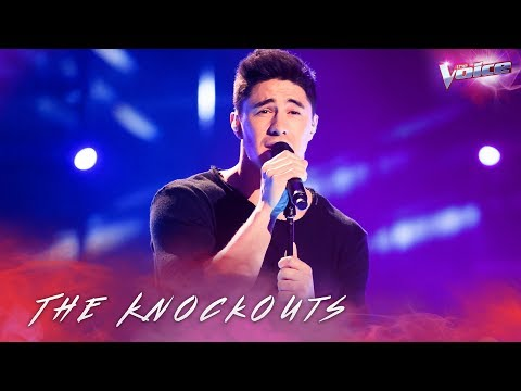 The Knockouts: Brock Ashby sings A Million Reasons   The Voice Australia 2018