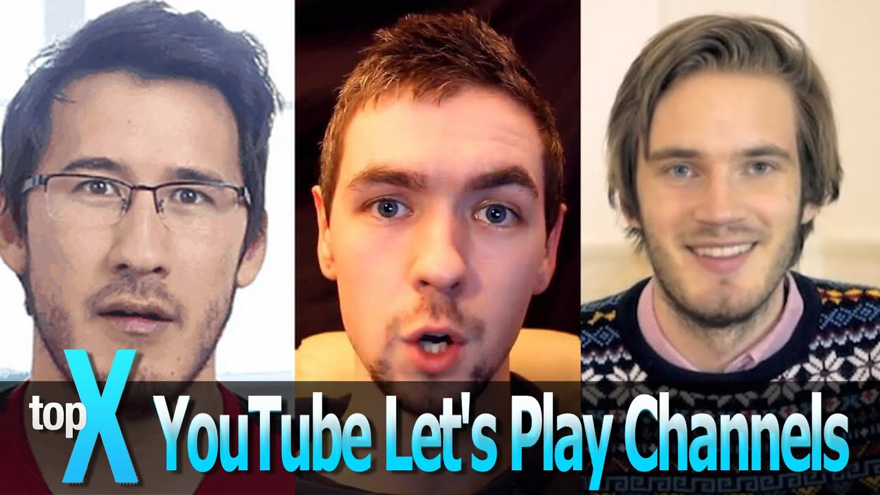 top 10 lets play youtube channels topx ep 2 youtube