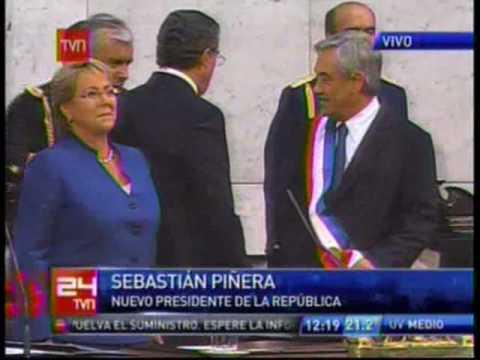 Investidura de Sebastian Piñera como Presidente de la Republica de Chile (11 de Marzo de 2010)