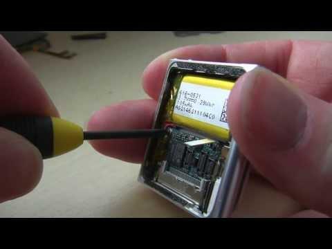 POV DIY Nano Ipod Power Button Repair  No Narration Fixing Apple Ipod 6th Gen by Lifeblood Marketing