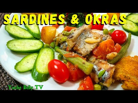 Breakfast LIVE: Sardines With Mixed Greens