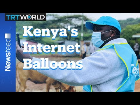 Kenya Gets 4G 'Loon' Balloons From Alphabet