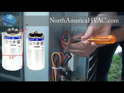 How To Replace A Capacitor - HVAC A/C Capacitor Replacement
