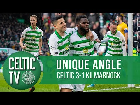📽️ UNIQUE ANGLE: Celtic 3-1 Kilmarnock | Ajer, Edouard & Griffiths fire Celts 12 points clear!