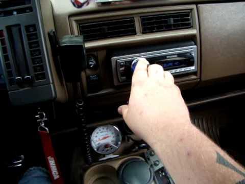 94 Chevy S10 Blazer Stereo system 07/04/09 - YouTube