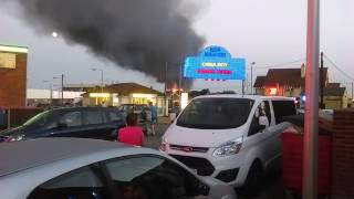 St.Mary's Road fire Hemsby 14th September 2016
