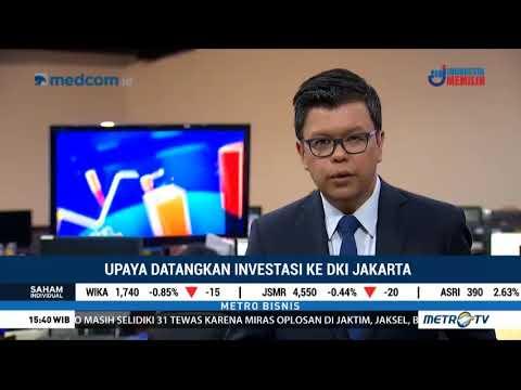 METRO TV BISNIS - JAKARTA BUSINESS FORUM - DPMPTSP Provinsi DKI Jakarta
