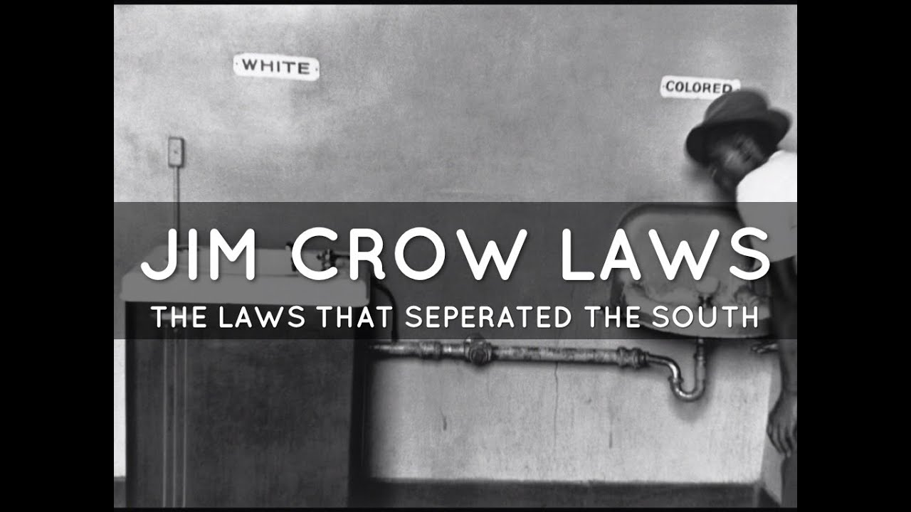 how the jim crow laws hindered The jim crow laws were legal and social restrictions that separated black people from white people beginning in the late 1800s and early 1900s.