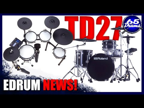 Edrum News: Roland's 4 Brand New Drumsets!