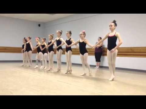 Ballet recital dance with music