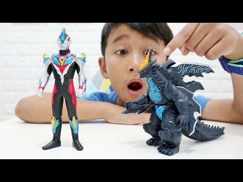 Ultraman Ginga Victory Vs Monster Kamisori Demaaga - Mainan Bandai