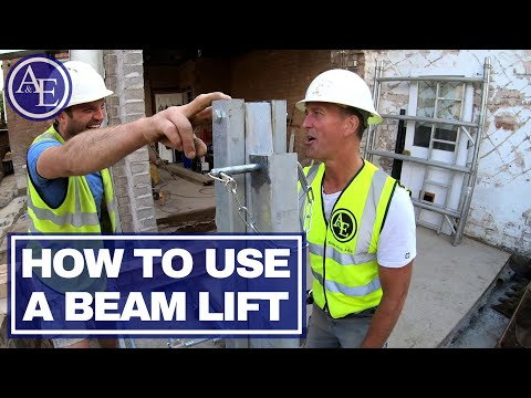HOW TO USE A BEAM LIFT | DIY Series | Build With A&E