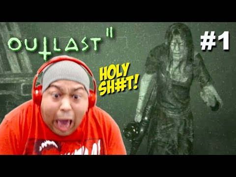 Thumbnail: MY F#%KING HEART CAN'T TAKE THIS!! [OUTLAST 2] [#01]
