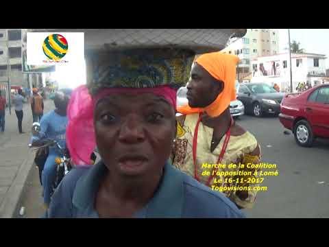 """Une revendeuse dans la marche à Lomé: """"Faure part pour que nous soyons en pays au Togo!"""""""