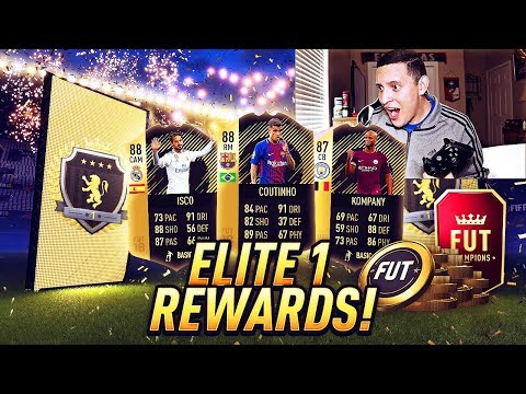 THESE ELITE 1 REWARDS WERE ACTUALLY GOOD!! FUT CHAMPIONS REWARDS | FIFA 18 ULTIMATE TEAM