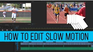 create and edit slow motion video from sony a6300 a7sii a7rii premiere pro