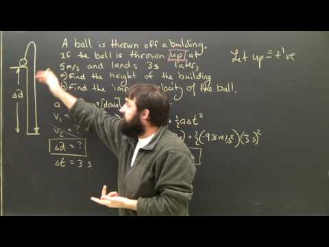 Physics Equations Lesson Acceleration Part 3 Kinematics for High School