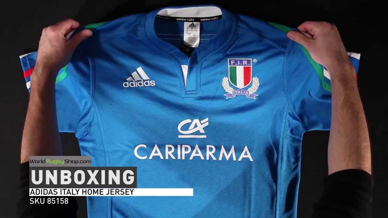 de57562f924 adidas Italy 2014 Home Jersey - Unboxing. World Rugby Shop