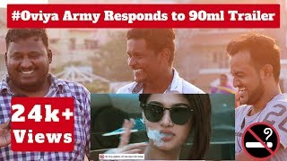 Oviya 90ml Trailer  - Public Reaction & Opinion | Oviya | STR | Oviya Army | STR Musical