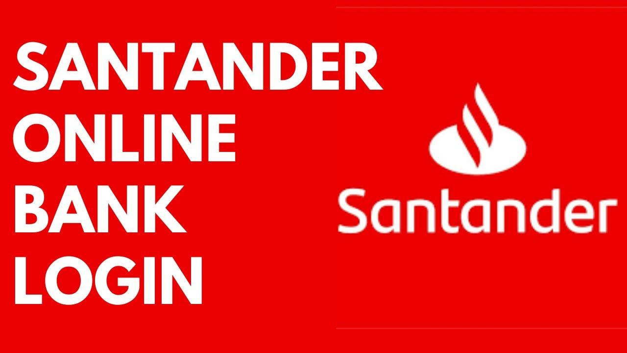 Santander Bank Online Login Mobile App | Santander Online Banking - YouTube
