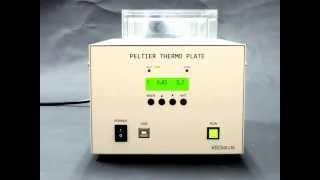 冷却加熱兼用プレート(クールプレート)ITH-300Aデモ動画(+20℃→0℃)