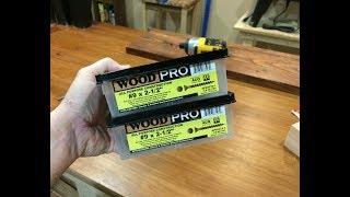 Best Screws Ever...WoodPro Screws
