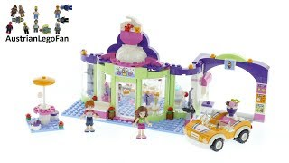 Lego Friends 41320 Heartlake Frozen Yogurt Shop - Lego Speed Build Review