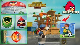 ANGRY BIRDS AND PUBG MOBILE NEW UPDATE | PUBG MOBILE AND ANGRY BIRDS NEW COLLABORATION UPDATE