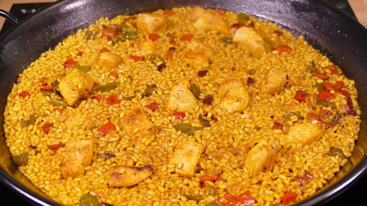 Arroz Pollo Curry Tres Ingredientes Deliciosos Resultado