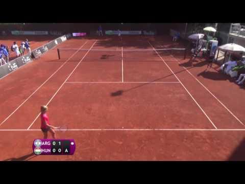 Carle Maria Lourdes v Gecsek Fanni - 2016 Junior Fed Cup finals