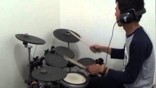 Drum Cover Murid TipsDrum School (Koang) - Jengah - PAS Band