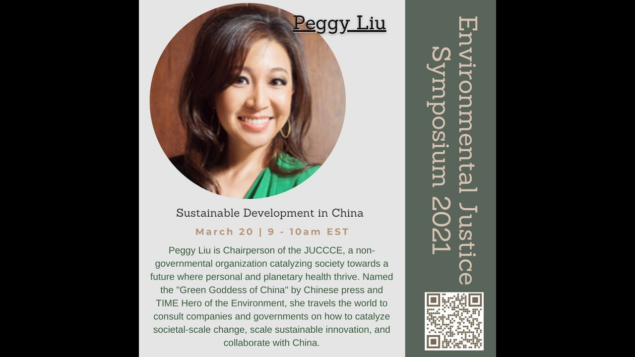 The Green Goddess of China discusses dreaming as a path to action by Peggy Liu