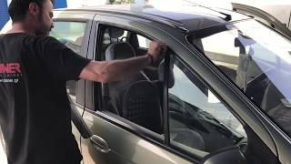 Τοποθέτηση Ανεμοθραύστες Αυτοκινήτου Carner