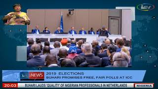 2019 Elections: President Muhammadu Buhari Promises Free and Fair Elections