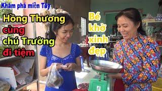 """Hồng Thương - Cô gái Tâm thần xinh đẹp """"bị"""" chú Trường dụ đi tiệm/KPMT"""