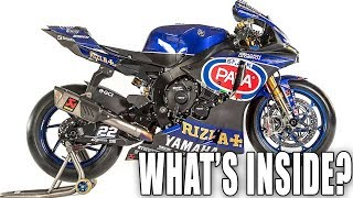 What makes a WorldSBK Superbike? With Pata Yamaha Racing director, Paul Denning & the YZF-R1