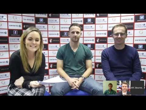 Google+ Hangout with AFC Bournemouth's Marc Pugh