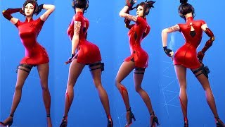 "HIGH HEELS - SHORT DRESS - HOT ""DEMI"" SKIN ❤️ Fortnite Season 9 Battle Pass"