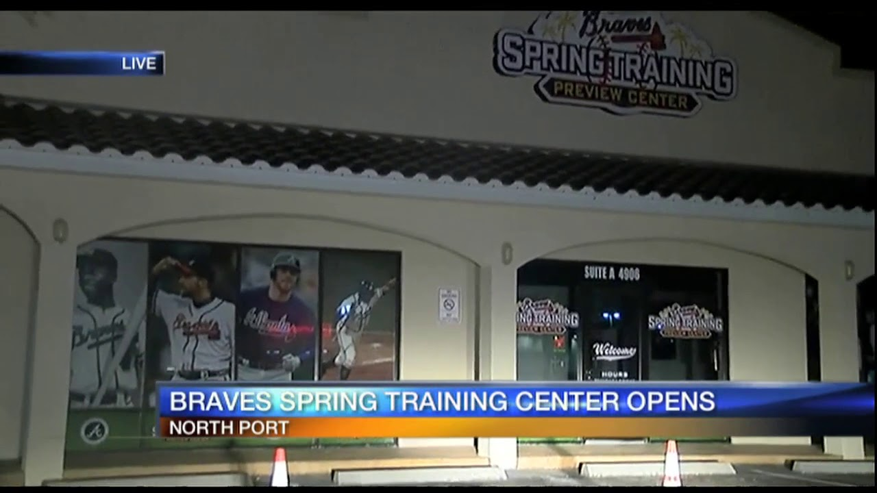 check out 9688f 78d7d Video: The Atlanta Braves opens store in North Port - selection