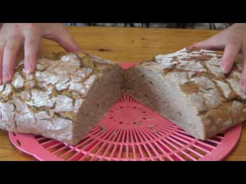 Roggenmischbrot selber Backen | Sauerteig selber machen | DIY Brot backen