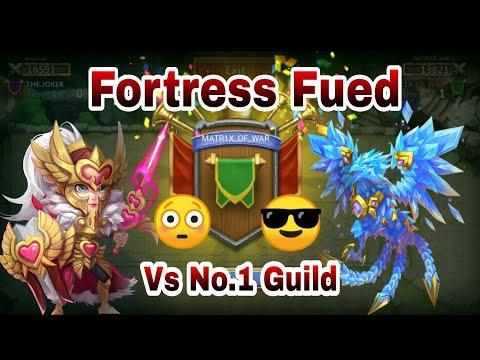 Fortress Fued | Matrix Vs No.-1 Guild ( FTK) | What A FF | Castle Clash